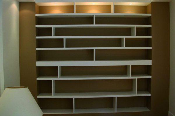 bibliothèque après
