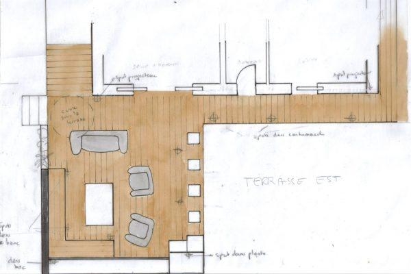 Terrasse Vaucresson, Plan